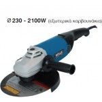 ANGLE GRINDER BULLE AGB 23 - 230 2300W/230mm
